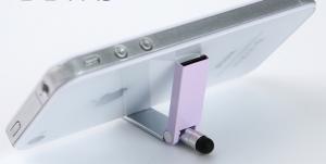 Kaartlezer-Houder-Stylus - Houder - iPhone