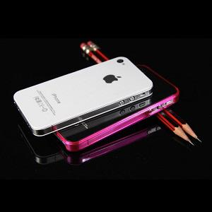 iPhone 4 - 4s Bumper - Roze