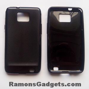 Product-Samsung Galaxy S2 Silicone Case Zwart