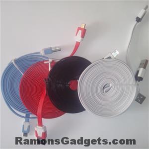 Micro USB kabel 3m