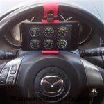 Telefoonhouder voor stuur in auto - torque pro - OBDII