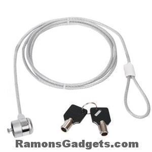 Laptop Slot - Staal kabel 2