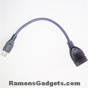 OTG kabel 15 cm