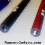 Stylus, laserpen en mini zaklamp