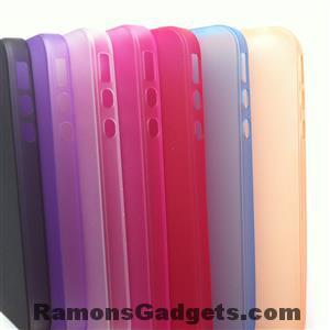 iPhone4s Semi Transparante Silicone Case beschermhoesje