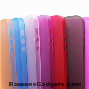 iPhone5s Semi Transparante Silicone Case beschermhoesje bumper