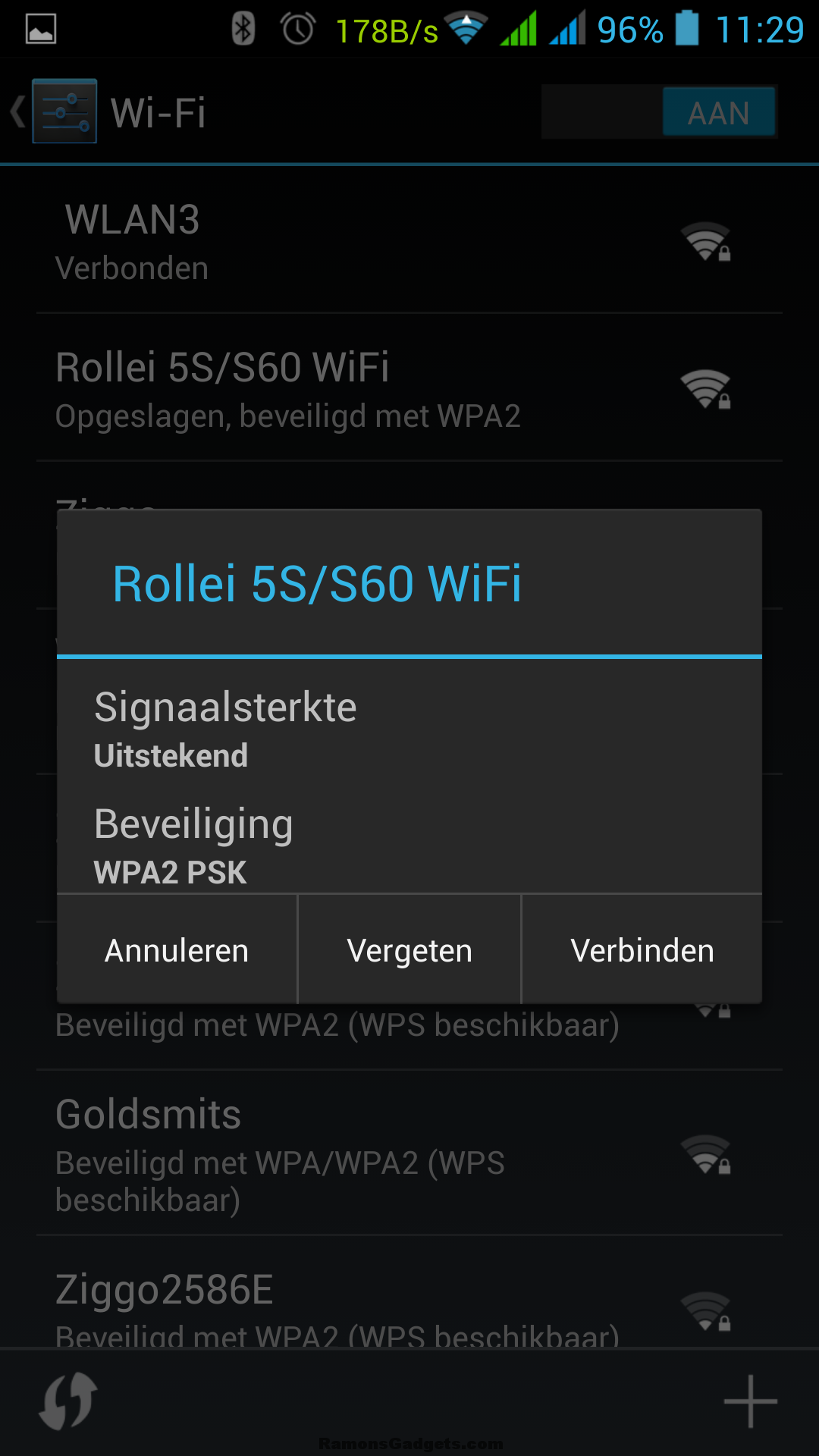 Screenshot Rollei 5S-S60 Wifi App
