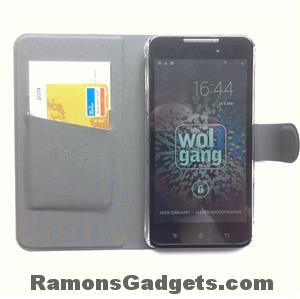 Wolfgang AT-AS50Q Flipcases met Patroon en creditkaart houder