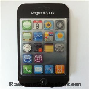 koelkast magneten - iphone ios app icons