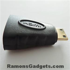 HDMI naar mini HDMI (voor Rollei action cam)