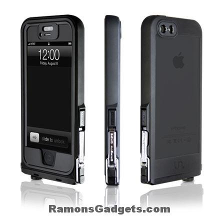 Iphone 5 5s waterproof UNCOMMON Safetey Case Black