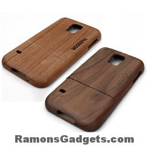 Woodiful Samsung Galaxy S5 Wood Cherry Walnut case