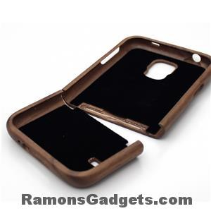 Woodiful Samsung Galaxy S5 Wood Walnut case