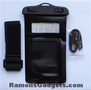 Waterdichte waterproof Telefoonhoes met Armband