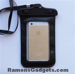 Waterdichte waterproof Telefoonhoes iphone 5 tot 4.5 inch