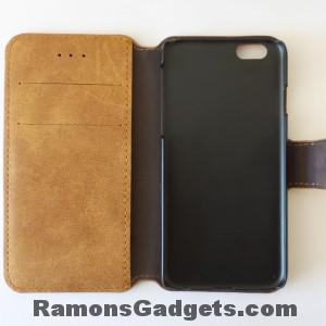 iPhone6-Lederen-Flipcase-Bookcase