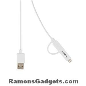 Lightning - Micro USB - USB sync - data - laad kabel - 1 meter - iPhone 5 en iPhone 6