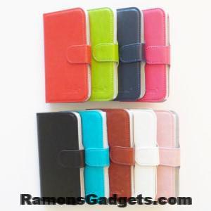 Universele 360 Flipcase - Bookcase Maat 3 o.a. voor AT-AS40Dx, AT-AS43Dx, Galaxy S2, Galaxy S4 mini, Alcatel Idol Mini, Polaroid Pro4006, Kurio Smartphone, Amplicomms PowerTel M9000, Doro Liberto 810, Lumia 625, Lumia 630,Lumia 630 Dual Sim, Lumia 635, Lumia 638, Lumia 720, Lumia 810, Lumia 822, Lumia 925, Wiko Sunset