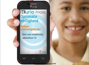 kurio - smartphone voor kinderen