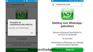 Whatsapp-oplichting