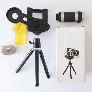 Zoomlens-2 8x optische zoom voor smartphone met tripod telefoonhouder