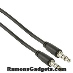audio kabel 3.5 mm - 1 meter