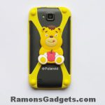 Universele Bumper Case - Silicone - Rubber - hoesje Winnie de poeh