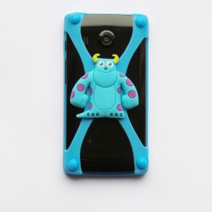 Universele Bumper Case - Silicone - Rubber - hoesje monster