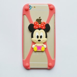 Universele Bumper Case - Silicone - Rubber - hoesje mini mouse