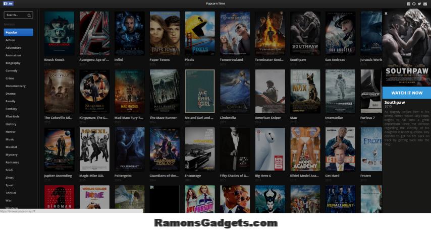 browserpopcorn.xyz films streamen in je browser popcorntime