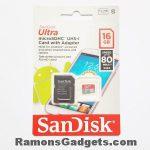 Sandisk Ultra 32GB MicroSDHC