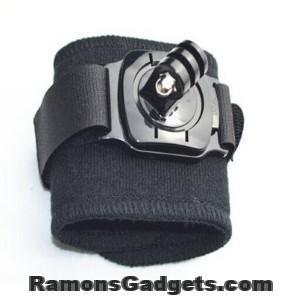 GoPro action camera Pols bevestiging - Wrist Mount | RamonsGadgets.com