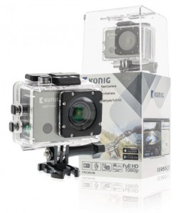 Konig Action Camera WiFi GPS - CSACWG100