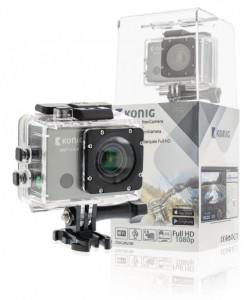 Konig Action Camera WiFi GPS - CSACWG100