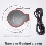 Wireless Qi lader - Fantasy Zwart