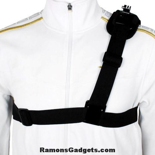Shoulder Chest mount - schouder harnas gopro action cam