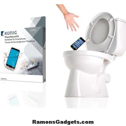 Phone Rescue Kit - Redt je telefoon bij waterschade - telefoon in water gevallen