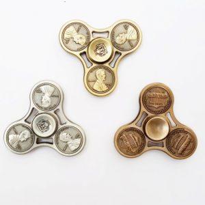 Fidget Spinner - One Cent Metal
