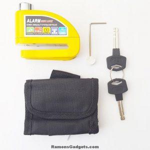 Remschijfslot - Alarm Disc Lock