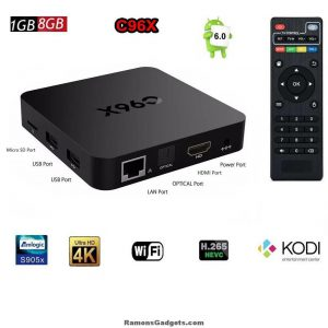 Android TV Box C96X Amlogic S905 - KODI - Gratis Films kijken - Netflix - Ziggo GO