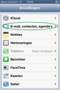 Google Calendar for iPhone 1