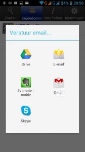 Stop-Heling-Android-app-iPhone-App-Export-Opties