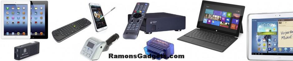 RamonsGadgets - Blog over gadgets, smartphones, tablets en multimedia. Besproken merken: HTC, Samsung, iPhone 4 / 5 /5, Nokia, iOS, Android,