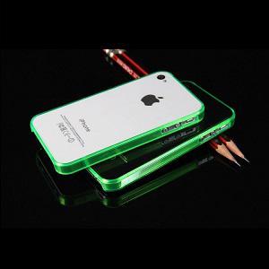 iPhone 4 - 4s Bumper - Groen