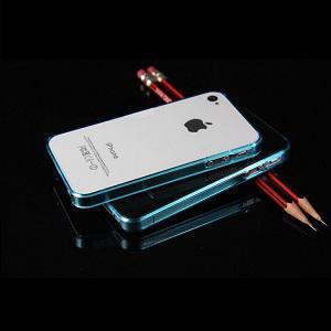 iPhone 4 - 4s Bumper - Licht Blauw