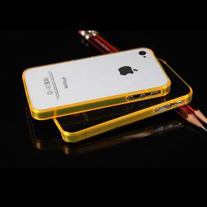 iPhone 4 - 4s Bumper - Oranje