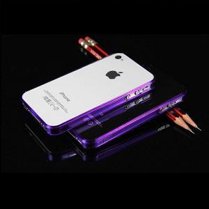 iPhone 4 - 4s Bumper - Paars