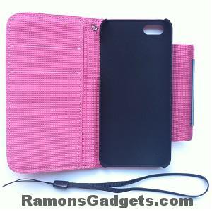 iphone 5 case - flipcase - geschikt voor creditcard - bankpasje