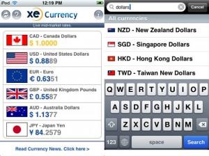 XE-Currency-app