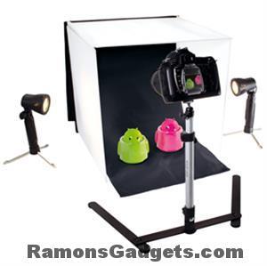 Foto studio met verlichting